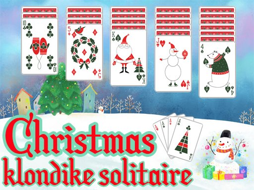 Play Christmas Klondike Solitaire Now!