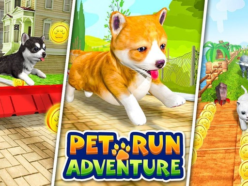 Play Pet Run Adventure Puppy Run Now!