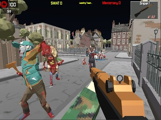 Play GunGame Poligon Battle Royale Now!