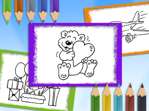 Play Cartoon Coloring Book Now!