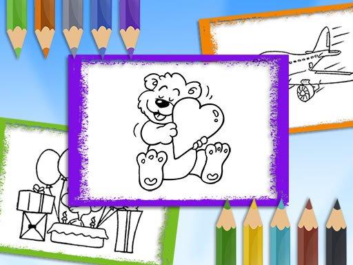 Play Cartoon Coloring Book Now!