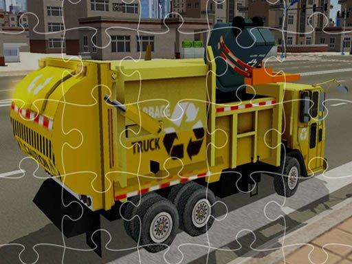 Play Garbage Trucks Jigsaw Now!