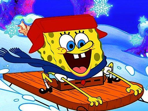Play SpongeBob Winter Puzzle Now!