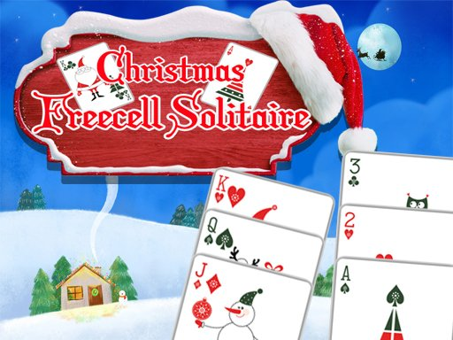 Play Christmas Freecell Solitaire Now!
