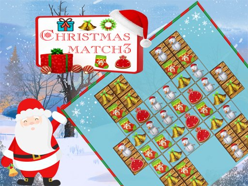 Play Christmas Match 3 Deluxe Now!