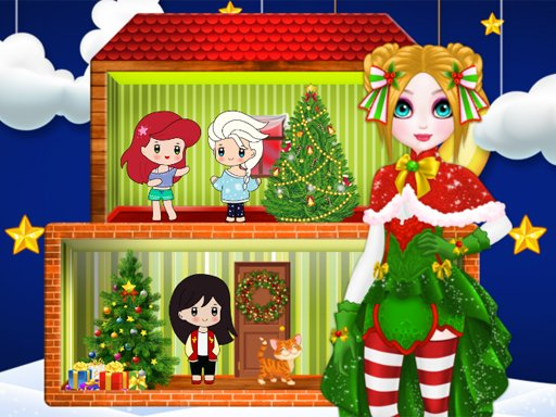 Play Christmas Puppet Princess House Now!