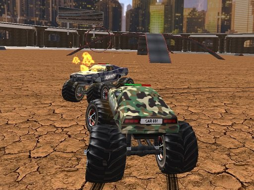 Play Demolition Monster Truck Army 2020 Now!