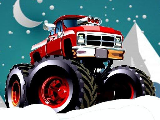 Play Winter Monster Trucks Race Now!