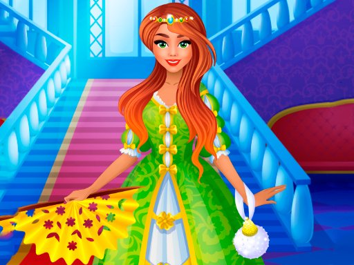 Play Modern Princess Prom Dress Up Now!