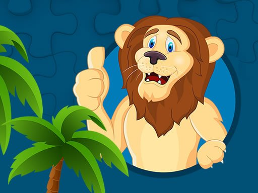 Play Strong Lions Jigsaw Now!