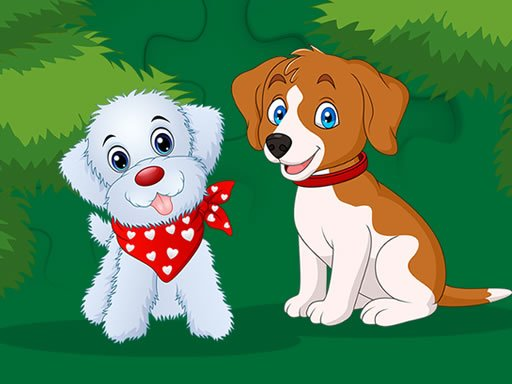 Play Cute Puppies Jigsaw Now!