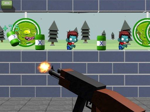 Play Zombie Target Shoot Now!