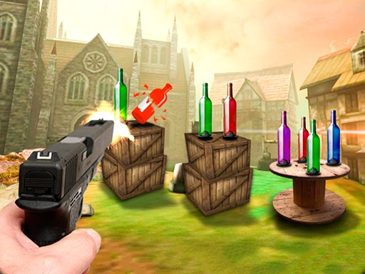 Play Bootle Target Shooting 3D Now!