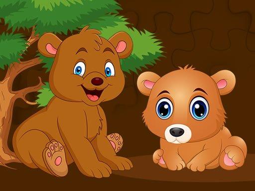 Play Baby Bear Jigsaw Now!