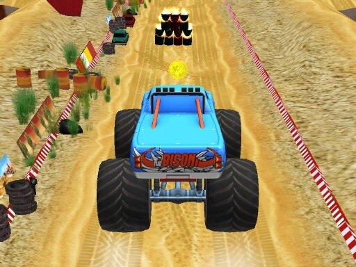 Play Monster Truck Stunt Now!