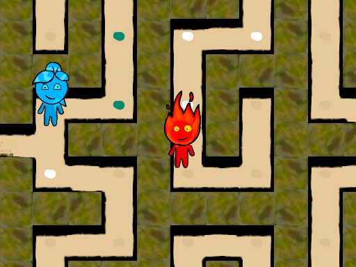 Play Fireboy and Watergirl Maze Now!