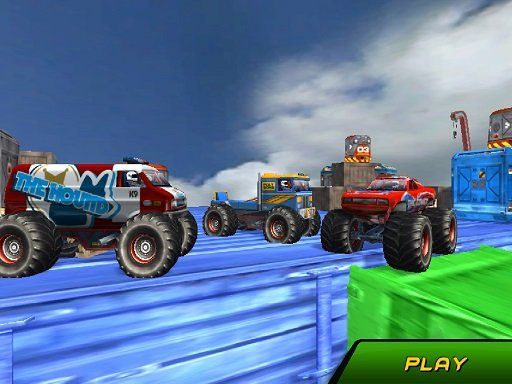 Play Monster Truck Stunts Sky Driving Now!