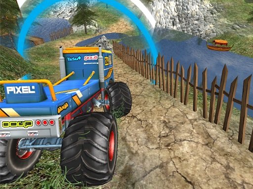 Play Monster Truck Offroad Driving Mountain Now!