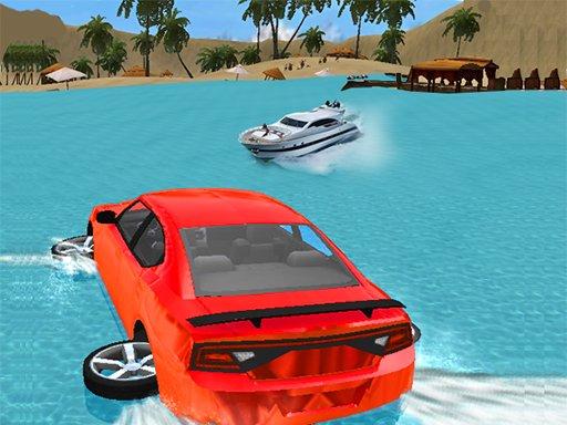 Play Water Slide Car Race Now!