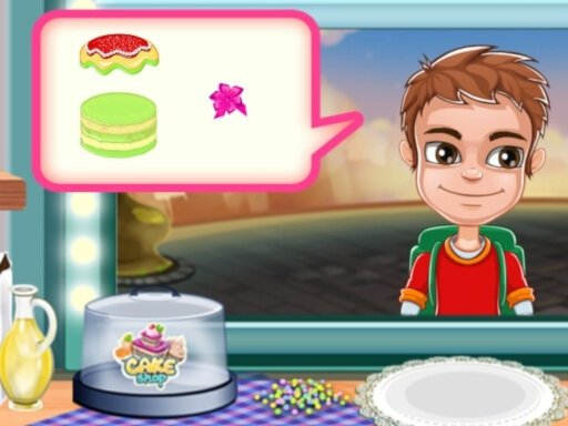 Play Cake Shop Bakery Now!