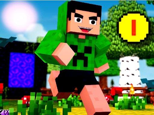 Play Block Craft Jumping Adventure Now!