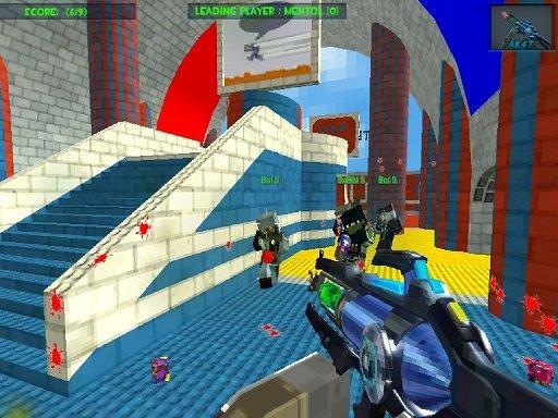 Play Blocky Gun Paintball 3 Now!