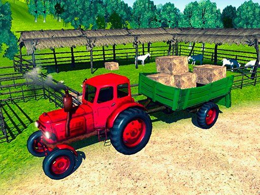 Play Farmer Tractor Cargo Simulation Now!