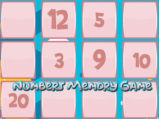 Play Memory Game With Numbers Now!