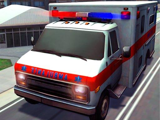 Play Best Emergency Ambulance Rescue Drive Sim Now!