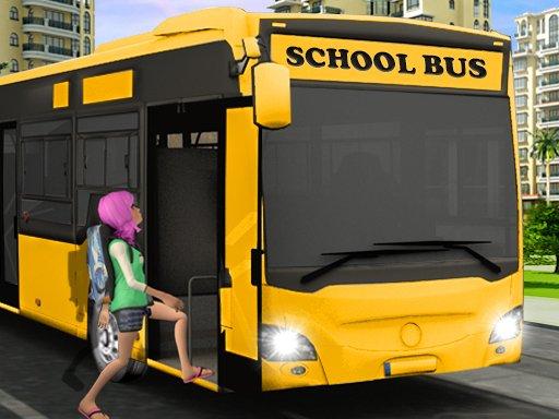 Play City School Bus Driver Simulator Now!
