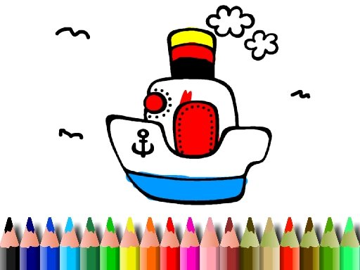 Play BTS Boat Coloring Now!