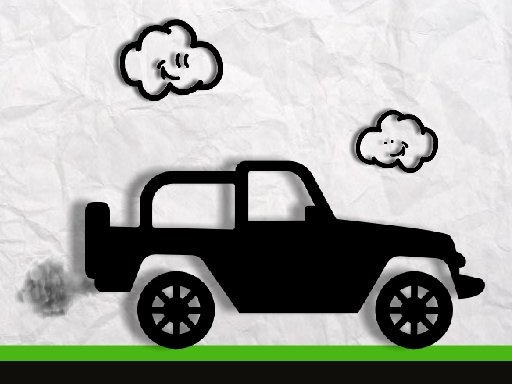 Play Paper Monster Truck Race Now!