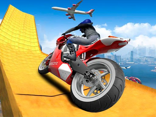 Play Impossible Moto Bike Track Stunts Now!