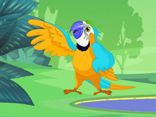 Play Parrot Pal Coloring Now!