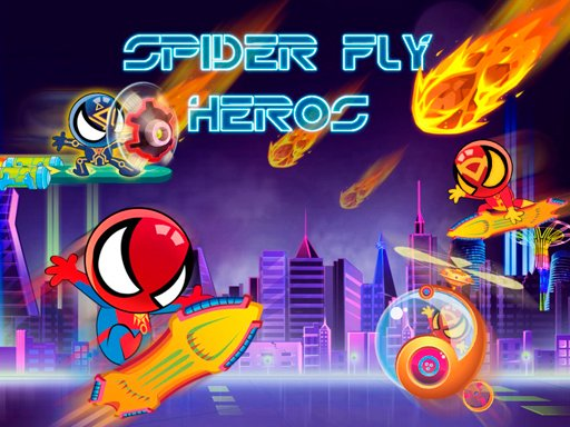 Play Spider Fly Heros Now!