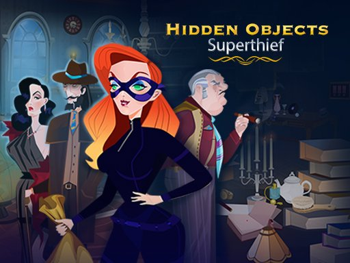 Play Hidden Objects: Superthief Now!