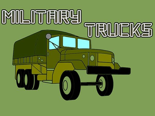 Play Military Trucks Coloring Now!