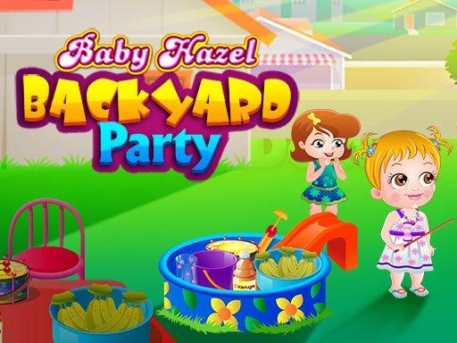 Play Baby Hazel Backyard Party Now!