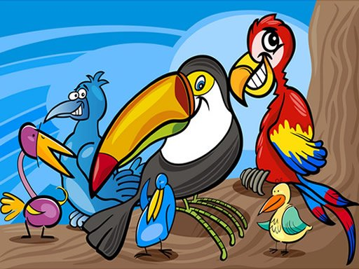 Play Exotic Birds Coloring Now!