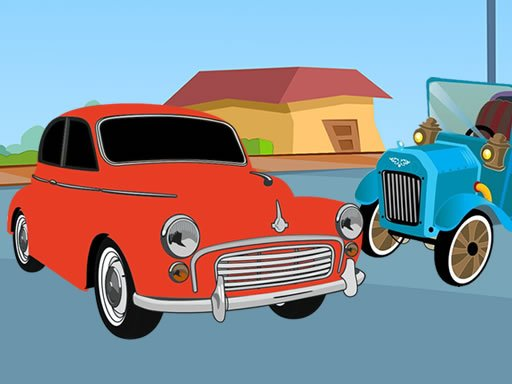 Play Old Timer Cars Coloring Now!