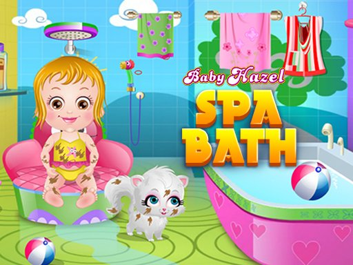 Play Baby Hazel Spa Bath Now!