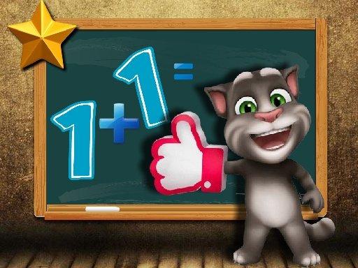 Play Talking Tom Math Test Now!