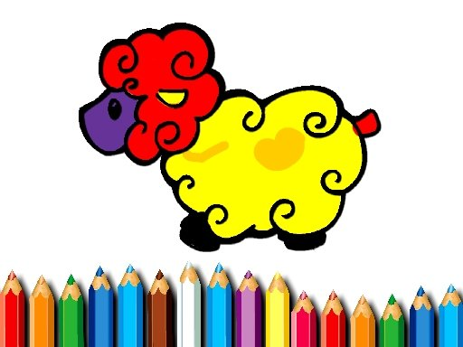 Play Baby Sheep Coloring Book Now!
