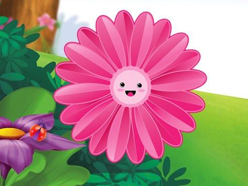 Play Funny Flowers Jigsaw Now!