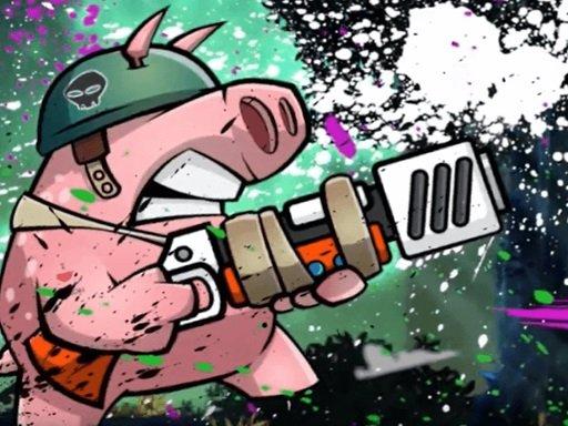 Play Piggy soldier super adventure Now!