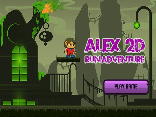 Play Alex 2D Run Adventure Now!