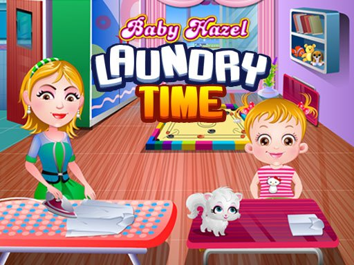 Play Baby Hazel Laundry Time Now!