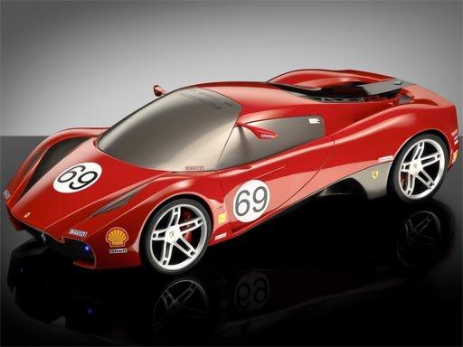 Play Super Cars Ferrari Puzzle Now!