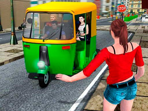 Play Public Tricycle Rickshaw Driver Now!