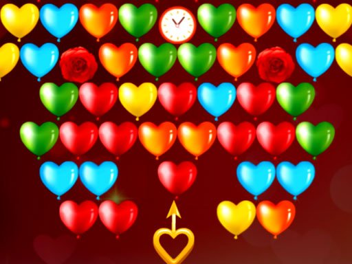Play Bubble Shooter Valentines Now!
